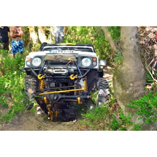 SAMURAI 10 CM COIL SPRING SUSPENSION CONVERSION KIT (Only for Models With Coil Springs)