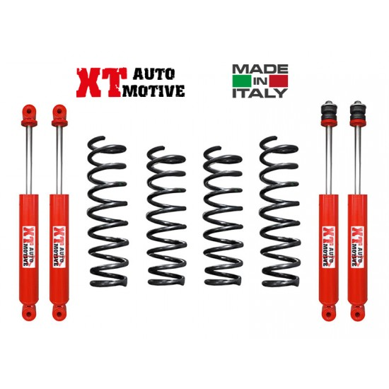 LIFT KIT XT AUTOMOTIVE + 4 CM FOR SUZUKI JIMNY PETROL AND DIESEL